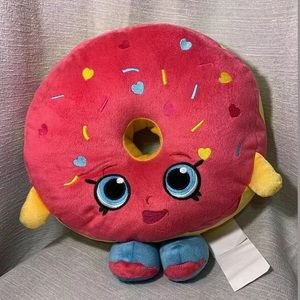 NWOT! SHOPKINS PINK DONUT WITH SPRINKLES KIDS TOY